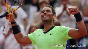 French Open - Watch the moment Rafael Nadal clinches victory over Britain's Cameron Norrie at Roland Garros - Eurosport COM