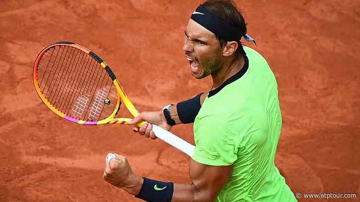 50 For Rafa! Rafael Nadal Reaches Another Slam Milestone At Roland Garros - ATP Tour