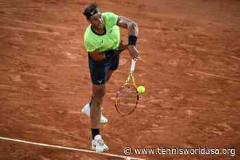 Rafael Nadal matches Roger Federer's Major record - Tennis World USA