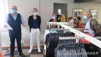Roost-Warendin : Kiabi vend ses vêtements et un supplément d'âme dans la boutique Les Trouvailles de Marlène - La Voix du Nord