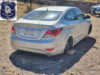 Hallan en camino a san juanito vehículo robado en chihuahua - La Opcion