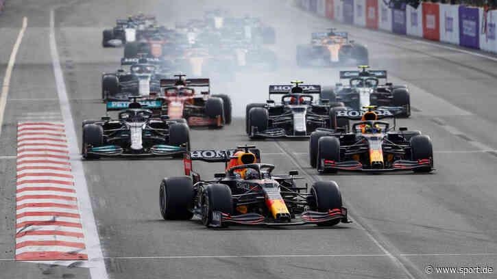 Formel 1: Pérez siegt nach Verstappen-Drama vor Sebastian Vettel - sport.de
