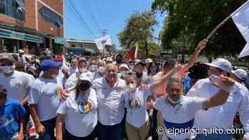 Diario El Periodiquito - Abrazo Adeco se toma al municipio Sucre en Cagua - El Periodiquito