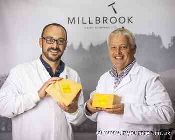 Millbrook Dairy Company win big at Virtual Cheese Awards - In Your Area