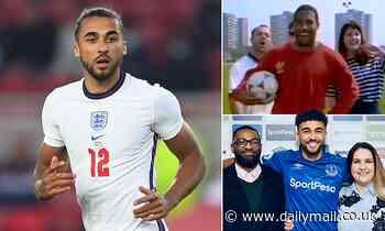 Euro 2020: Dominic Calvert-Lewin reveals his dad celebrated call-up by singing John Barnes rap