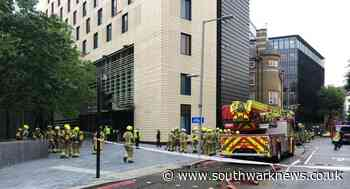 Firefighters scramble to put out hotel blaze near Tower Bridge - Southwark News