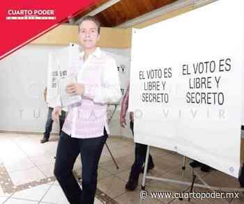 Vota el senador y exgobernador de Chiapas Manuel Velasco Coello - Cuarto Poder