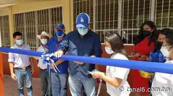 Gobierno inaugura Centro de Educación Básica en Concepción del Norte, Santa Bárbara - canal6.com.hn