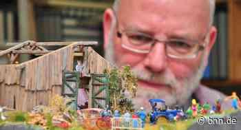 Große Leidenschaft für kleine Welten: Modellbauer aus Eggenstein-Leopoldshafen gestaltet Dioramen - BNN - Badische Neueste Nachrichten