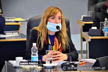 ¿La diputada Sandra Fonseca trianguló fondos legislativos? - La Pampa La Arena