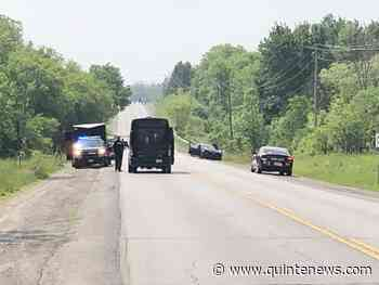 TRAFFIC TIE UP: Three vehicle crash on Belleville/Quinte West border - Quinte News