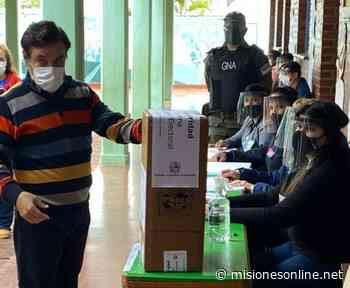 #MisionesElige: votó Carlos Rovira - Misiones OnLine