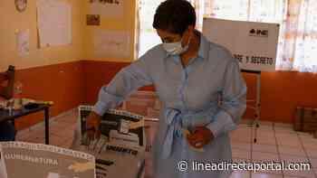 A votar de manera valiente llama Lolis Cota al emitir su sufragio en Venecia, Choix - LINEA DIRECTA