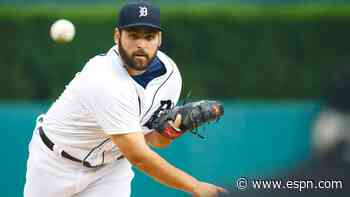 Tigers P Fulmer to 10-day IL with shoulder strain