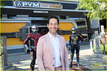 Paul Rudd, Brie and Anthony Mackie celebrate opening of Avengers Campus - Daily Times