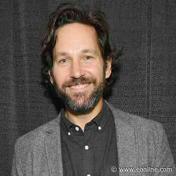 Paul Rudd Sparks Social Media Frenzy After Wearing Pink Suit to Avengers Campus Event - E! NEWS