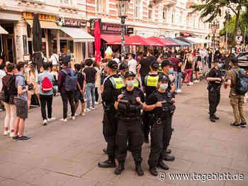 Hamburger Polizei registriert Verstöße gegen Corona-Regeln - TAGEBLATT: Nachrichten aus Stade, Buxtehude und der Region - Tageblatt-online