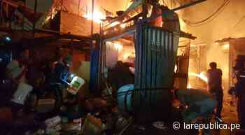 Familia pide ayuda tras perderlo todo en incendio en Cantagallo - LaRepública.pe