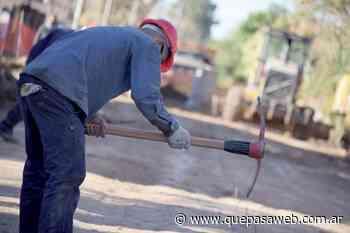Trabajos de pavimentación e hidráulica en calles de Grand Bourg - Que Pasa Web