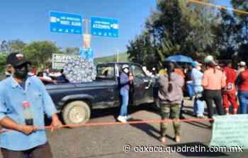 Impiden paso hacia Monte Albán y Atzompa en Oaxaca - Quadratín Oaxaca - Quadratín Oaxaca