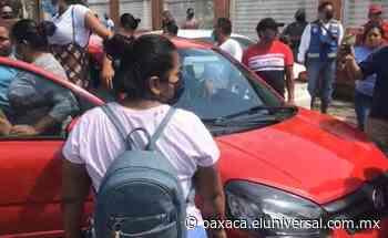Piden la intervención de la policía en casilla de Tuxtepec, Oaxaca; acusan intento de compra de voto | Oaxaca - El Universal Oaxaca