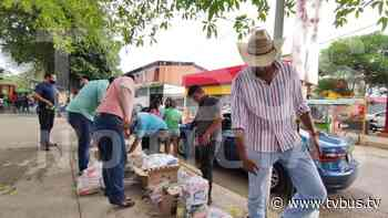 Saquean bodega de despensas en Tuxtepec y las reparten - TV BUS Canal de comunicación urbana