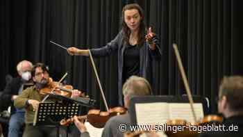 Remscheid/Solingen: 26-Jährige darf ein Jahr lang den Takt bei den Symphonikern angeben - solinger-tageblatt.de