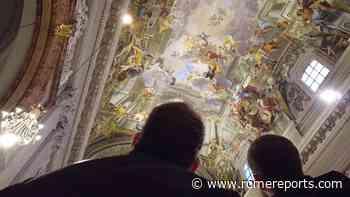 Accesibles en internet los detalles la bóveda de San Ignacio de Loyola - Rome Reports