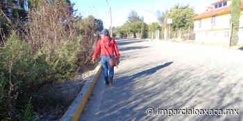 Avenida de Tlaxiaco, sin banquetas para el peatón - El Imparcial de Oaxaca