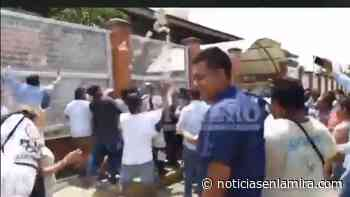VIDEO | ¡Hacen bolo! Caen 2 por compra de votos en Tuxtepec - Noticias en la Mira
