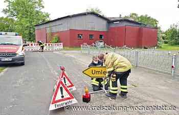 Nach erneutem Feuerwehreinsatz: Marode Scheune in Kranenburg soll abgerissen werden - Kreiszeitung Wochenblatt