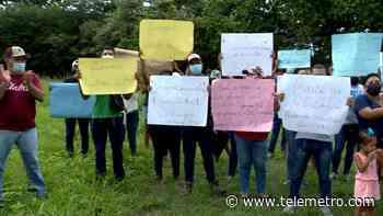 Moradores de Chame exigen devolución de terrenos - Telemetro