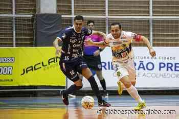 Dracena abre vantagem no primeiro tempo, mas Barão Futsal consegue a virada em casa - globoesporte.com