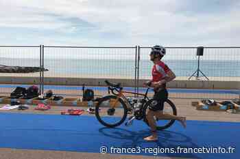 Plus de 1000 engagés au triathlon de Cagnes-sur-Mer ce dimanche, Clément Mignon sacré champion de France - France 3 Régions