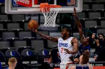 WATCH: Clippers' Kawhi Leonard Makes a Kobe Bryant Styled Reverse Dunk to Break Mavericks' Defense - EssentiallySports
