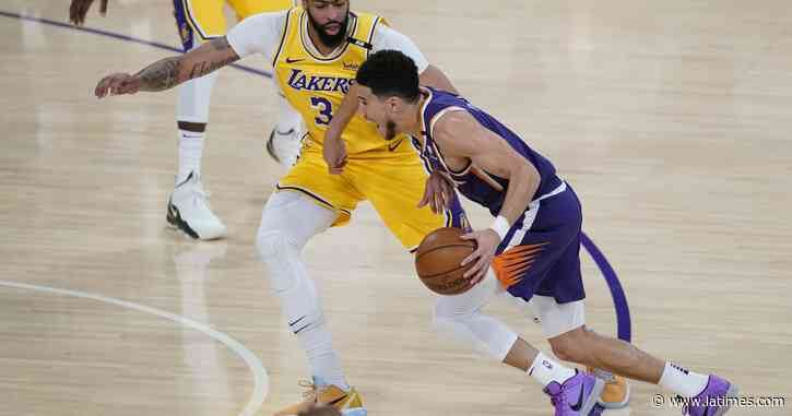 How Devin Booker channeled Kobe Bryant to beat Lakers - Los Angeles Times