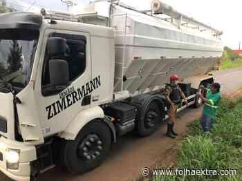 Leia Também: Caminhão atinge jovem e cavalo em Siqueira Campos - Folha Extra
