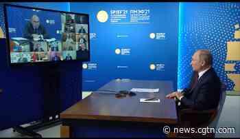Saint Petersburg Forum outlines Russia key development vectors - CGTN
