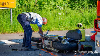 Tödlicher Unfall in Gummersbach: Motorradfahrer stirbt nach Kollision mit Auto - Westfälischer Anzeiger