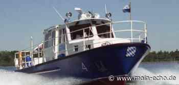 Angetrunkener Sportbootfahrer auf dem Main bei Kleinostheim - Main-Echo