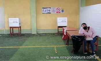 En Talara algunas mesas de sufragio se instalaron después de las 11 de la mañana - El Regional