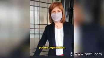 Patricia Bullrich filmó un video en una escuela en Castelar creyendo que estaba cerrada - Perfil.com