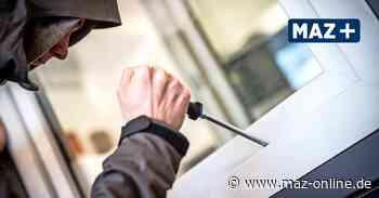 Polizei: Einbruch in Rathenow - Märkische Allgemeine Zeitung