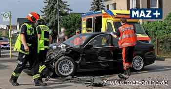 Verkehrsunfall mit zwei Verletzten in Rathenow - Märkische Allgemeine Zeitung