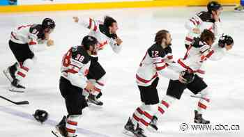 Canada beats Finland to capture gold at men's hockey worlds