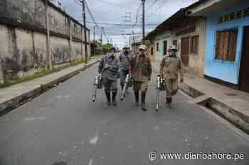 Fumigan viviendas en Iquitos - DIARIO AHORA
