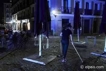 Almeida ordena que las terrazas ampliadas por la covid cierren a medianoche - EL PAÍS