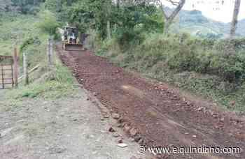 Se habilita vía alterna de acceso al municipio de Salento - El Quindiano S.A.S.