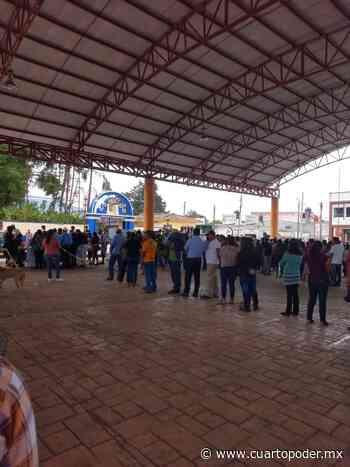 Votación copiosa en Pueblo Nuevo Solistahuacán - Cuarto Poder