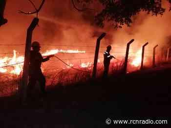Alerta máxima en Nimaima (Cundinamarca), agobiada por incendio forestal - RCN Radio